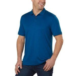 Calvin Klein Men's Liquid Touch Polo T-Shirt